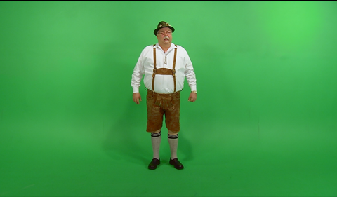 Green Screen Example Video